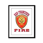 San Francisco Fire Department Framed Panel Print