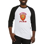 San Francisco Fire Department Baseball Jersey