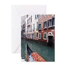 Gondola Ride Greeting Card