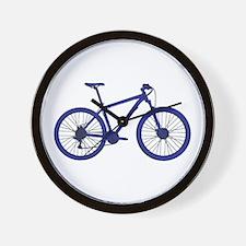 Unique Mountain bike Wall Clock