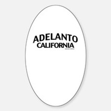 Adelanto Sticker (Oval)