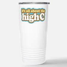 Funny High C Trumpet Travel Mug