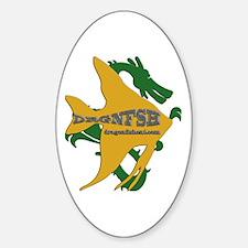 Dragonfish Logo Sticker (oval)