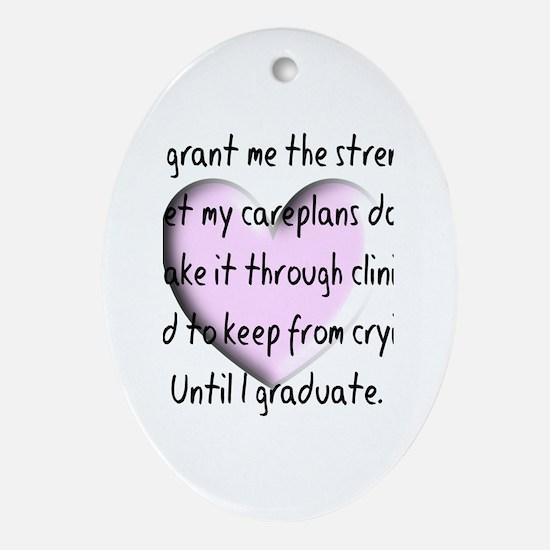 Nursing Student Ornament (Oval)