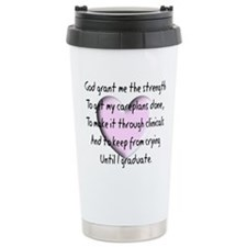 Nursing Student Travel Coffee Mug