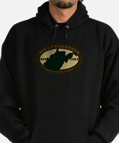 West Virginia Est. 1863 Hoodie (dark)