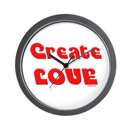 Create Love Wall Clock