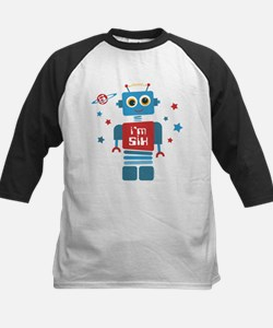Robot 6th Birthday Tee