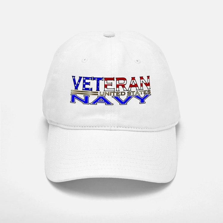 US Navy Veteran Baseball Baseball Cap