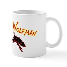 Unique Wolf man Mug