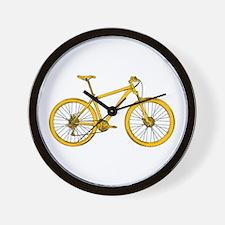 Funny Mountain bike Wall Clock