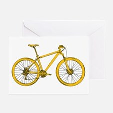 Funny Mountain bike Greeting Cards (Pk of 10)