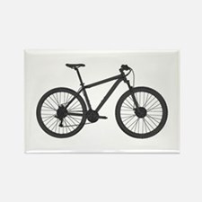 Funny Mountain biking Rectangle Magnet (10 pack)