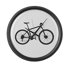 Bicycle Large Wall Clock