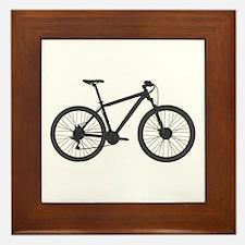 Unique Mountain biking Framed Tile