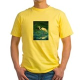 Egret Mens Yellow T-shirts