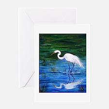Cool Birds Greeting Card