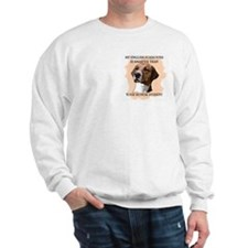smart english foxhound Sweatshirt