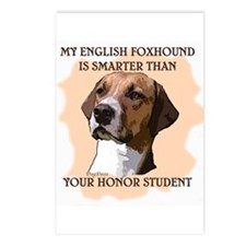 smart english foxhound Postcards (Package of 8)