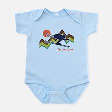 Ski Lake Tahoe Infant Bodysuit