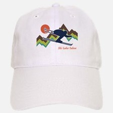 Ski Lake Tahoe Baseball Baseball Cap