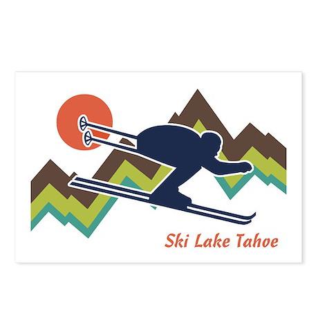 Ski Lake Tahoe Postcards (Package of 8)