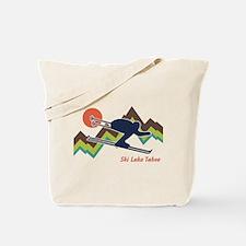 Ski Lake Tahoe Tote Bag