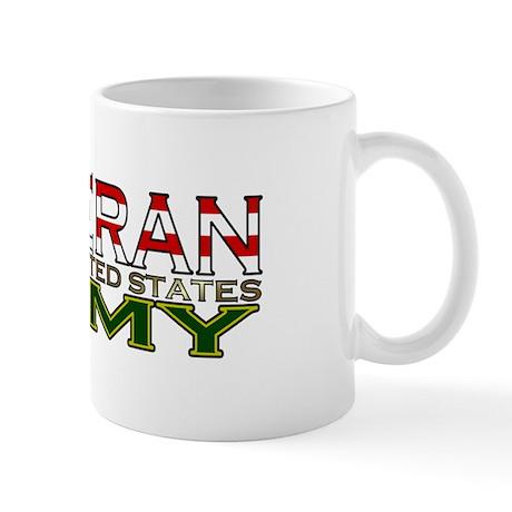 US Army Military Veteran Mug