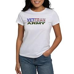 US Army Military Veteran Women's T-Shirt