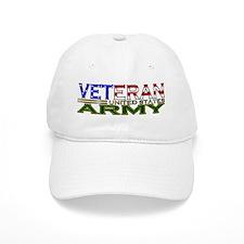US Army Military Veteran Baseball Baseball Cap