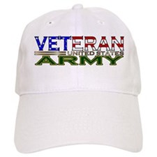 US Army Military Veteran Baseball Cap