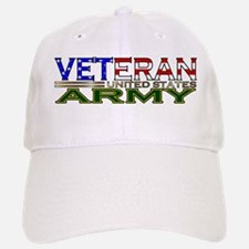 US Army Military Veteran Cap