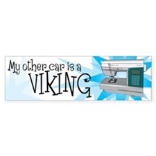 Other Car is a Viking Bumper Sticker