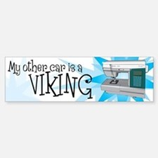 Other Car is a Viking Bumper Bumper Sticker