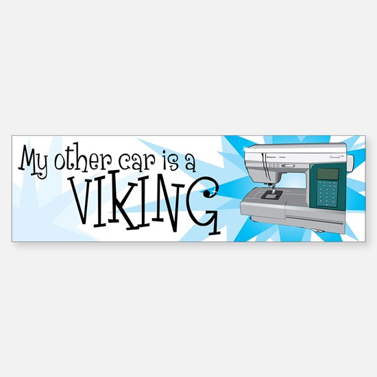Other Car is a Viking Sticker (Bumper)
