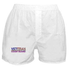 US Coast Guard Veteran Boxer Shorts