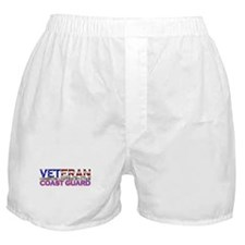 US Coast Guard Veteran Boxer Shorts