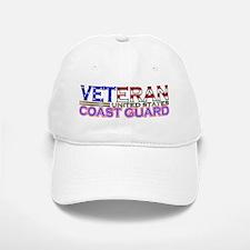 US Coast Guard Veteran Baseball Baseball Cap