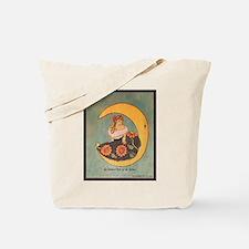 La senorita y la luna Tote Bag