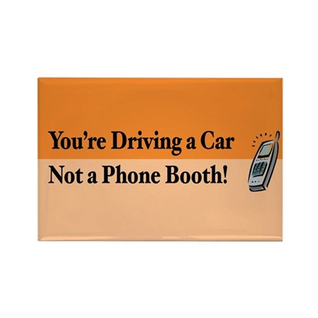 Not a Phone Booth Rectangle Magnet (10 pack)