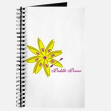 Kayak Paddle Power (Yellow) Journal