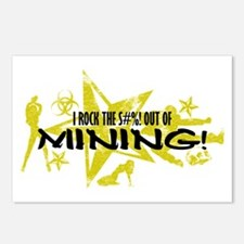 I ROCK THE S#%! - MINING Postcards (Package of 8)