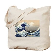 Kanagawa The Great Wave Tote Bag