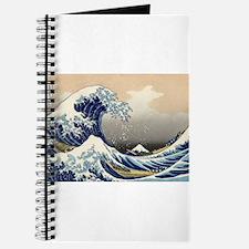 Kanagawa The Great Wave Journal