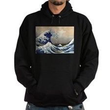 Kanagawa The Great Wave Hoodie