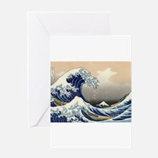 Kanagawa The Great Wave Greeting Card