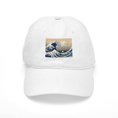 Kanagawa The Great Wave Cap