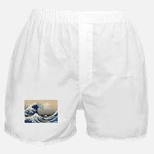 Kanagawa The Great Wave Boxer Shorts