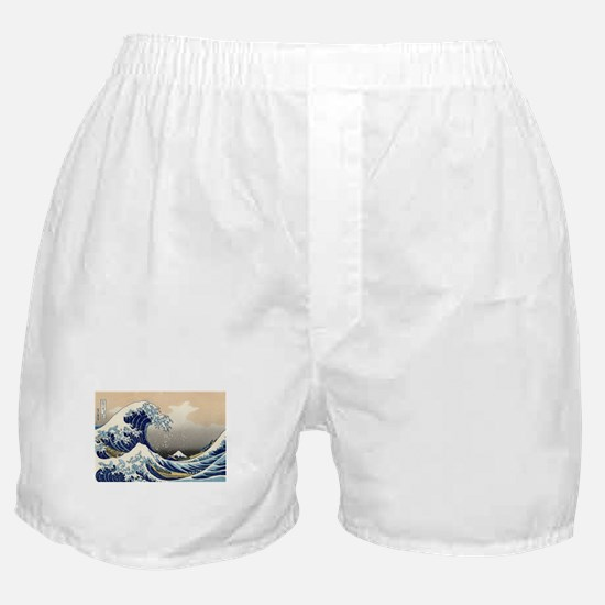 Kanagawa The Great Wave Boxer Shorts