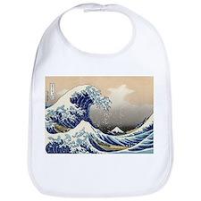 Kanagawa The Great Wave Bib